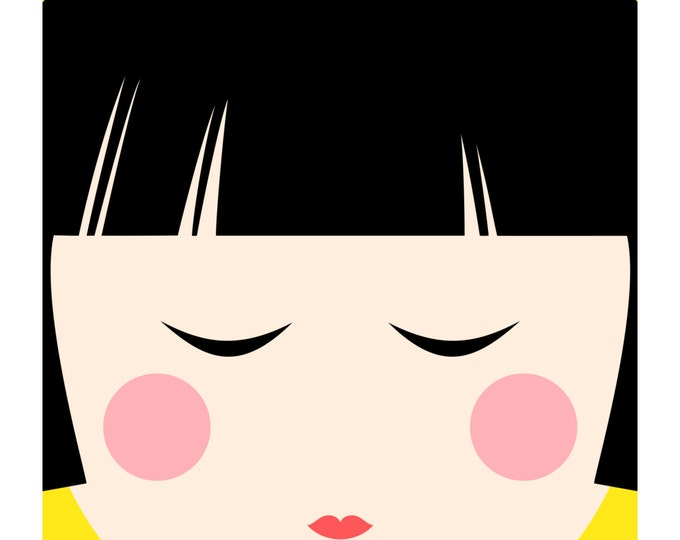 Kokeshi Doll No. 3