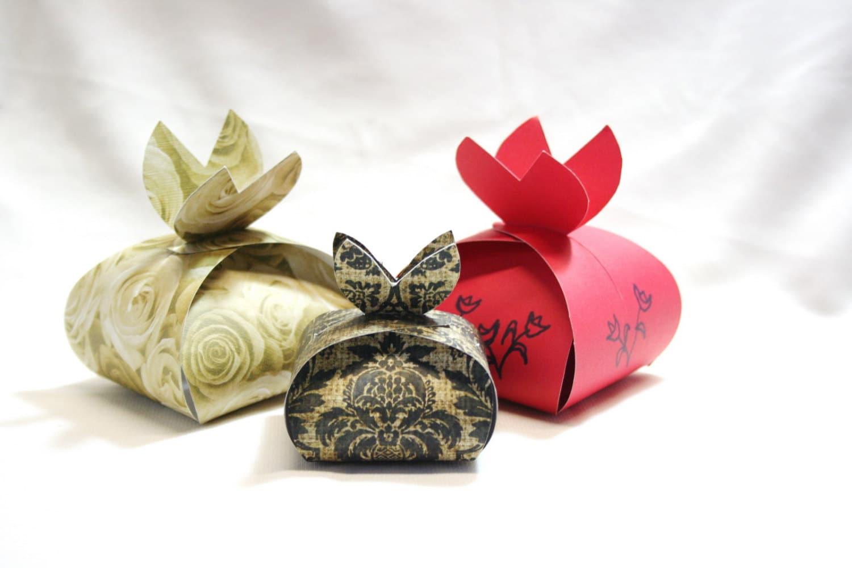 DIY Box Gift Box Paper Box Box Template Printable Gift – Homemade Gift Boxes Templates