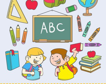 Back To School - Clip Art