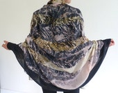 Elegant scarf silky soft large and long. Can be worn as wrap or sarong. 100% modal drapes beautifully. Gift for her or yourself.