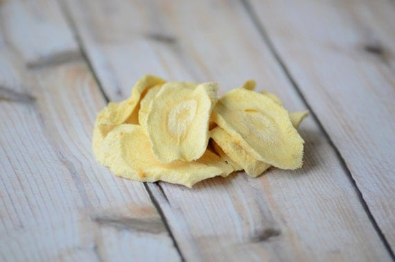 Parsnip Chips for Bunnies