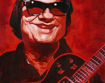 Roy Orbison original painting