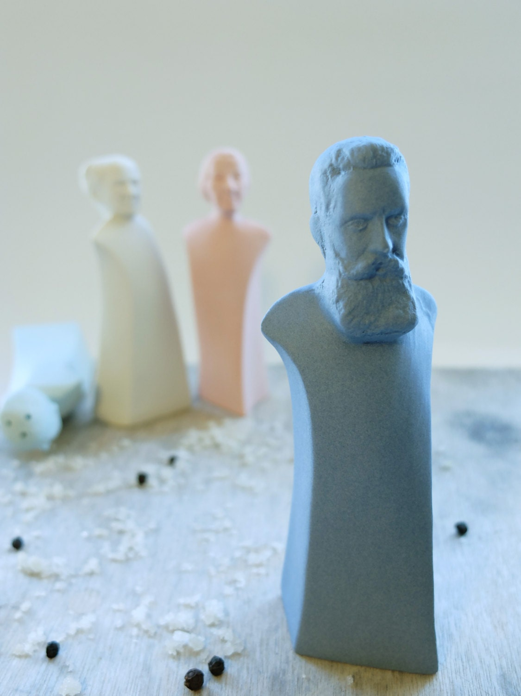 Ceramic Salt And Pepper Shaker Porcelain Figurine Pottery