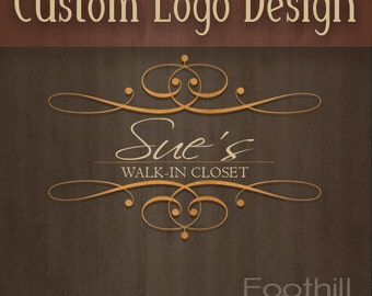 ON SALE Custom Store Logo Design - Website Logo - One Of A Kind - Match Your Store Theme - Graphic Design Services - Online Branding - Store