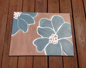 Soft Blue Petals