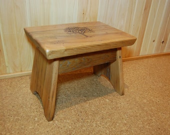 Wood Step Stool Etsy