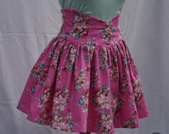 Women highwaist short skirt - Lacing up