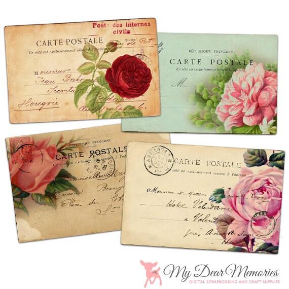 vintage carte postale clipart cartes postales vintage. Black Bedroom Furniture Sets. Home Design Ideas