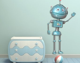 Wall decals robot A303 - Stickers robot A303