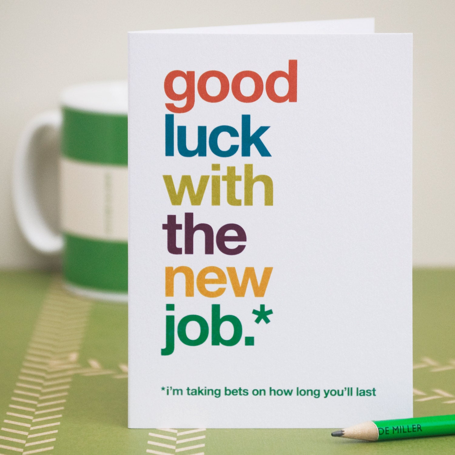 How To Have Good Luck Fair Of Funny Good Luck On New Job Cards Pictures