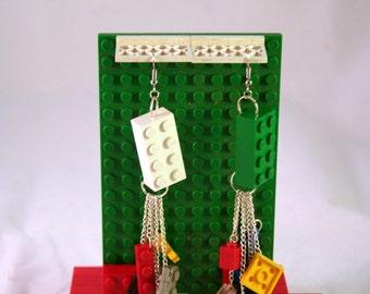 LEGO Brick and Knob Earring Set