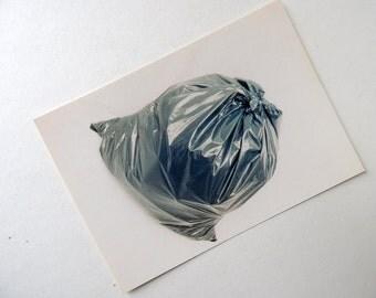 Garbage Bag Postcard
