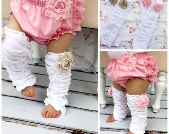 Summer Baby Girl Coming Home Outfit Chiffon Rose Ruffle Leg Warmers Boot Cuffs Toppers. Baby's 1st Birthday Outfit Cake Smash.  Mommy and Me