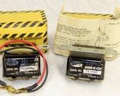 12V Omni-Flash Negative Ground - Dietz 333 Flasher -  Lot of 2 - Vintage 1960s