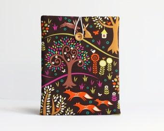 iPad Case - iPad Cover - iPad Air Case - iPad Sleeve for iPad 2, Retina. Colourful Forest Trees