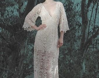 Bohemian Wedding Dress Ophelia Gown