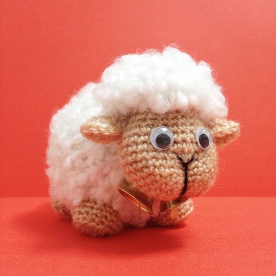 DIY Sheep Amigurumi Crochet PDF Easy Pattern Sheepy Lamb