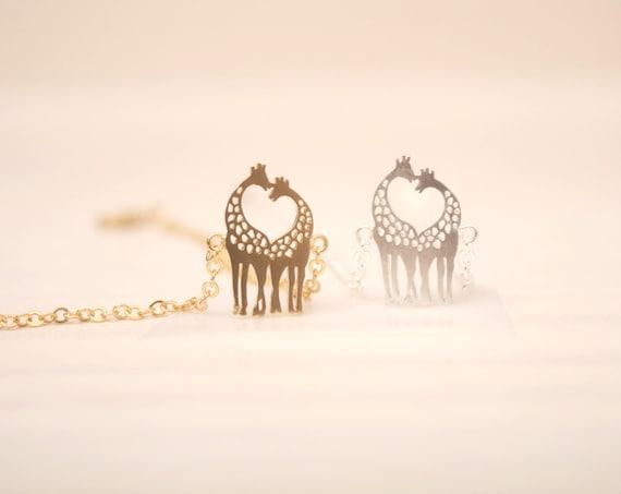Aninimal Book: Cute Giraffe heart neck bracelet. Animal bracelet. Giraffe ...