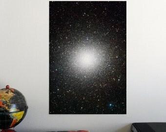 "Omega Centauri globular cluster 19"" x 13"" Poster - Science Astronomy Wall Art Print- Window on the Universe series"