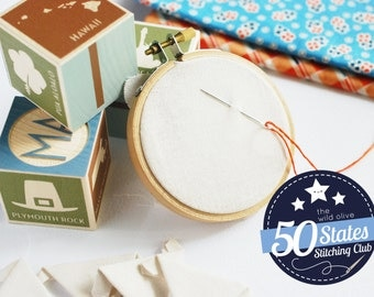50 States Stitching Club Membership