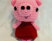 Sweet Amigurumi Pig