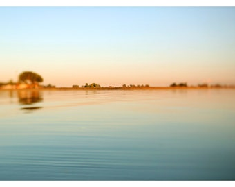 Photograph - Nature Photography - Landscape Photograph - Michigan - Summer - Lake  - Water - Sky - Fine Art  - Summer Solstice #1 - Sunset
