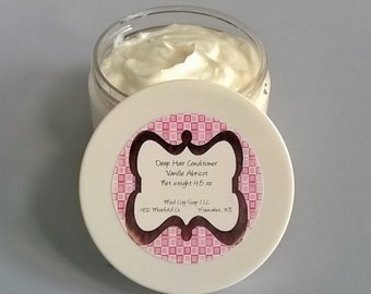 Deep Hair Conditioner 4.5 oz Custom Scented