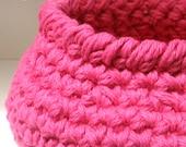 3 Crochet Basket PATTERNS Instant Download PDF - Fast Easy DIY Kitchen Bathroom Office Tabletop Storage