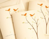 The Love Birds Collage Card -Set of 3