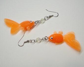 Darling Goldfish Earrings