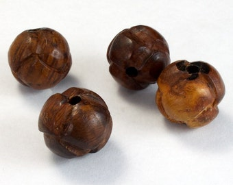 15mm Brown Knot Bead (2 Pcs) #2522