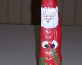 Handpainted Cypress Knee Santa