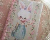Easter/Spring Whimsy Book TUTORIAL ONLY (scrapbook, altered album, mixed media)