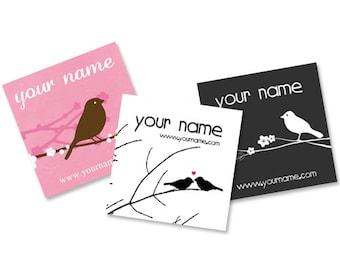 Custom Tags  Product Tags  Custom  Earring Cards  Hair Bow Cards  Display Cards  Jewelry Tags  Jewelry Display  Bird Tags  BIRDS2