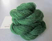 Alpaca Colo Organic Handpainted Yarn (Emerald Green) 100 yds 91.4 meters