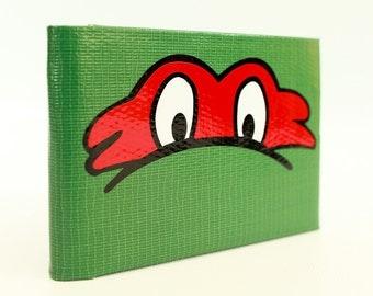 Teenage Mutant Ninja Turtles Raphael Duct Tape Wallet - by jDUCT