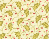 SALE - Honeysweet - Ginger Vine in Ivory: sku 20213-11 cotton quilting fabric by Fig Tree and Co. for Moda Fabrics - 1 yard