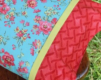 COTTAGE ROSES, Travel/Toddler Pillowcase, girls bedding