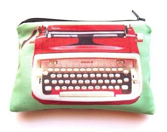Vintage typewriter series-Big red
