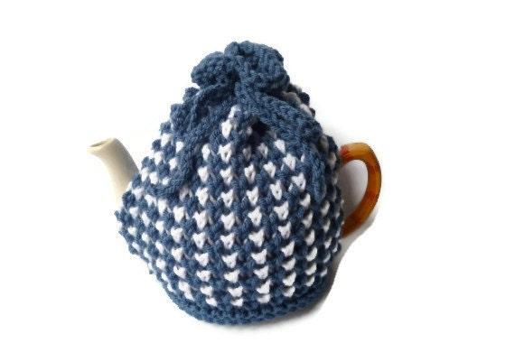 stripe tea cosy cosie knitting pattern pdf file