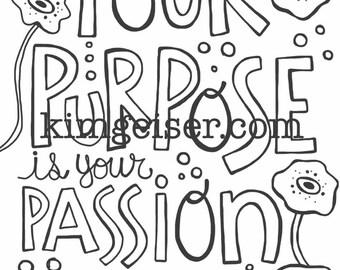 Your purpose digital download