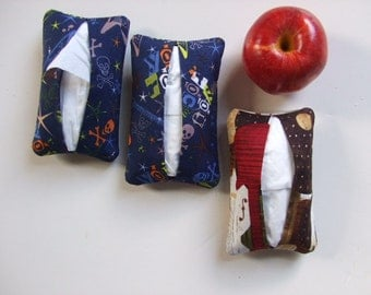 Tissue Holders and Hand Sanitizers - Rock and Roll -  Set of 3