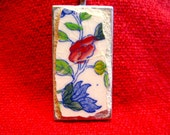 Mason's Regency Plantation Colonial Pattern Vintage China Pique Assiette Mosaic Pendant
