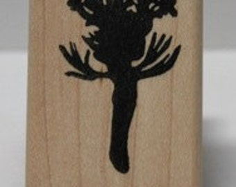 Coreopsis Silhouette- Channel Islands rubber stamp