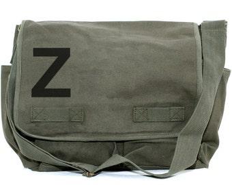 Messenger Bag, Monogram Bag, Personalized Bag, Custom Gift, Initials, Crossbody Bag, Personalized Diaper Bag, Women Messenger Bag, Helvetica