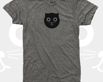 Cat Shirt Men, Watson the Cat TShirt, Men Graphic Tee, Mens Clothes, Crazy Cat Man, Real Men Love Cats, Gift for Cat Lover, Mens Cat Shirt