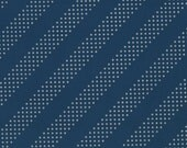 Cotton + Steel Basics - Dottie - Nite Owl metallic silver - 50cm