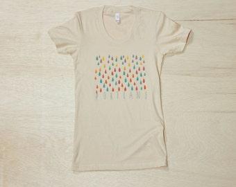 Women's Portland Color Rain Tee