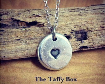 Sweet Nothing - Petite Heart Pendant Necklace