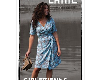 20% Off! Valori Wells PATTERN - Lanie Wrap Dress